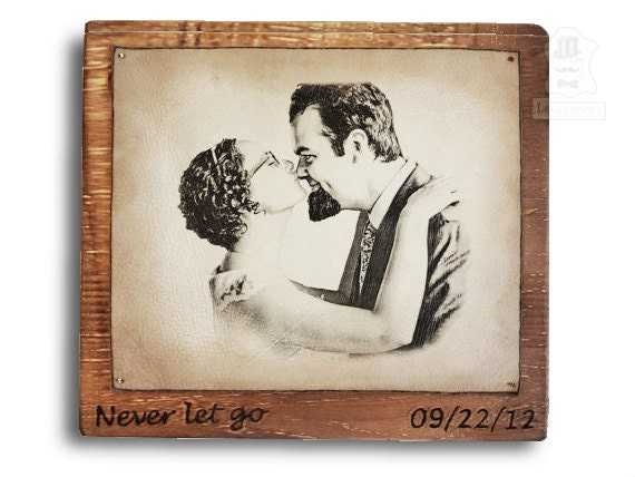 Wedding Anniversary Gifts Fifth Year : Wood Anniversary Gift 5th Wedding Gifts Wooden Presents Personalized ...
