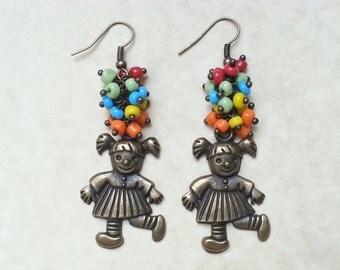 Doll Earrings AR144