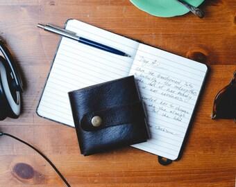 Leather Wallet, Minimalist Men's Wallet, Unisex Wallet, Men's Wallet, Women's Wallet, Credit Card Wallet, Money Clip, Retro, Gift