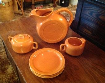 Coors Rock Mount pottery set