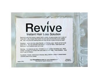 Revive 25g Bag Refill of Hair Building Fibers for Hair Loss Concealer