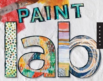 Paint Lab : 52 Exercises Inspired by Artists, Materials, Time, Place, and Method,watercolor, mixed media,print ALWAYS FREE SHIPPING