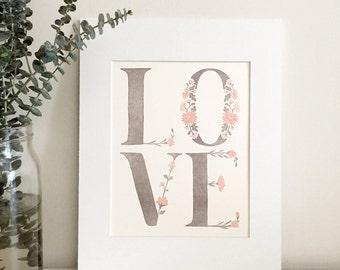 Love Art Prints_Oriental Blossom