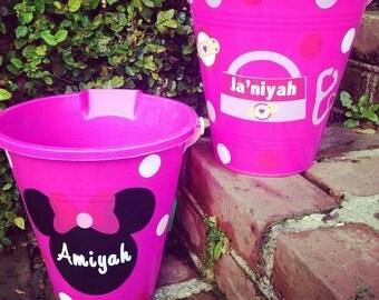 Custom Beach Buckets