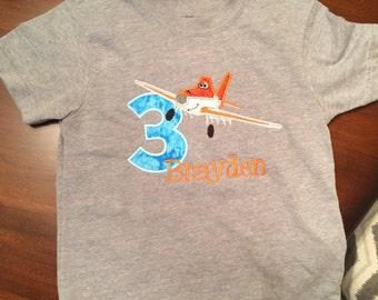 Disney planes 2nd/3rd birthday t-shirt