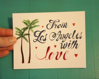 From LA with Love Postcard