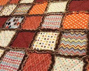 Little Mr. Rag Quilt