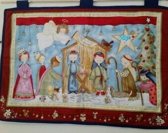 Cute Nativity Wallhanging