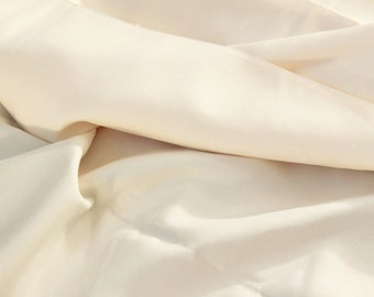 Vintage Silk Broadcloth in a Cream Color