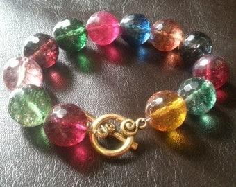 Colorful Quartz Bracelet