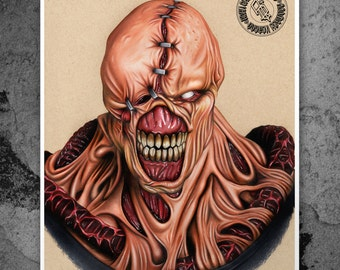Nemesis - Illustrated Gicleé Print
