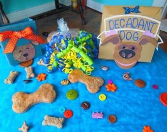 Decadent Dog Gourmet Treats Cheesie Wheat Puppy Treats/Dog Bones