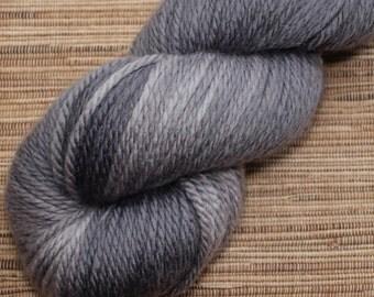 Hand dyed yarn - 100g Extra Fine Merino, Aran weight (12 ply)  in 'Softly Softly'.