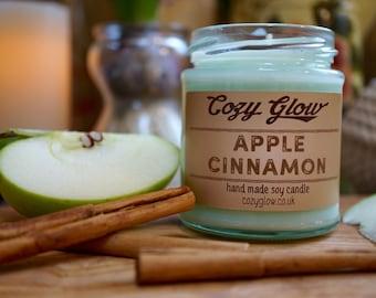 Apple & Cinnamon Soy Candle 6.8 ounce Jar
