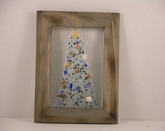 Sea Glass Christmas Tree.