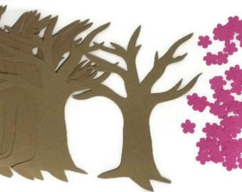 12 Cherry Blossom Flower Spring Tree Crafts. Quick crafts for kids.