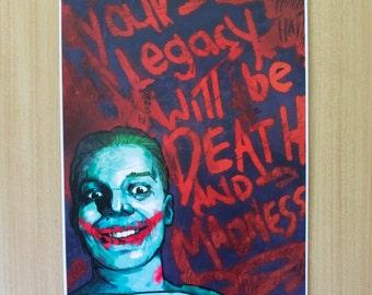 Jerome/Joker, Gotham [A3 Print]