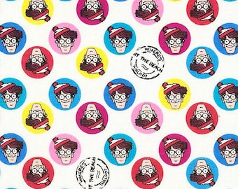 Design your own cloth pad, Made from Where is Waldo Fabric
