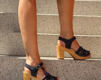 Clog | Sandals | Wooden clogs | Swedish clogs | clog sandals | boho | swedish | shoes | Kulikstyle