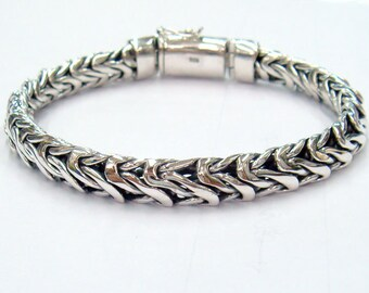 caterpillar bracelet 925 sterling silver
