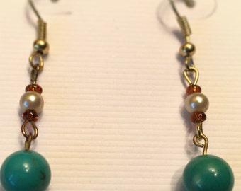 Earring: Turquoise