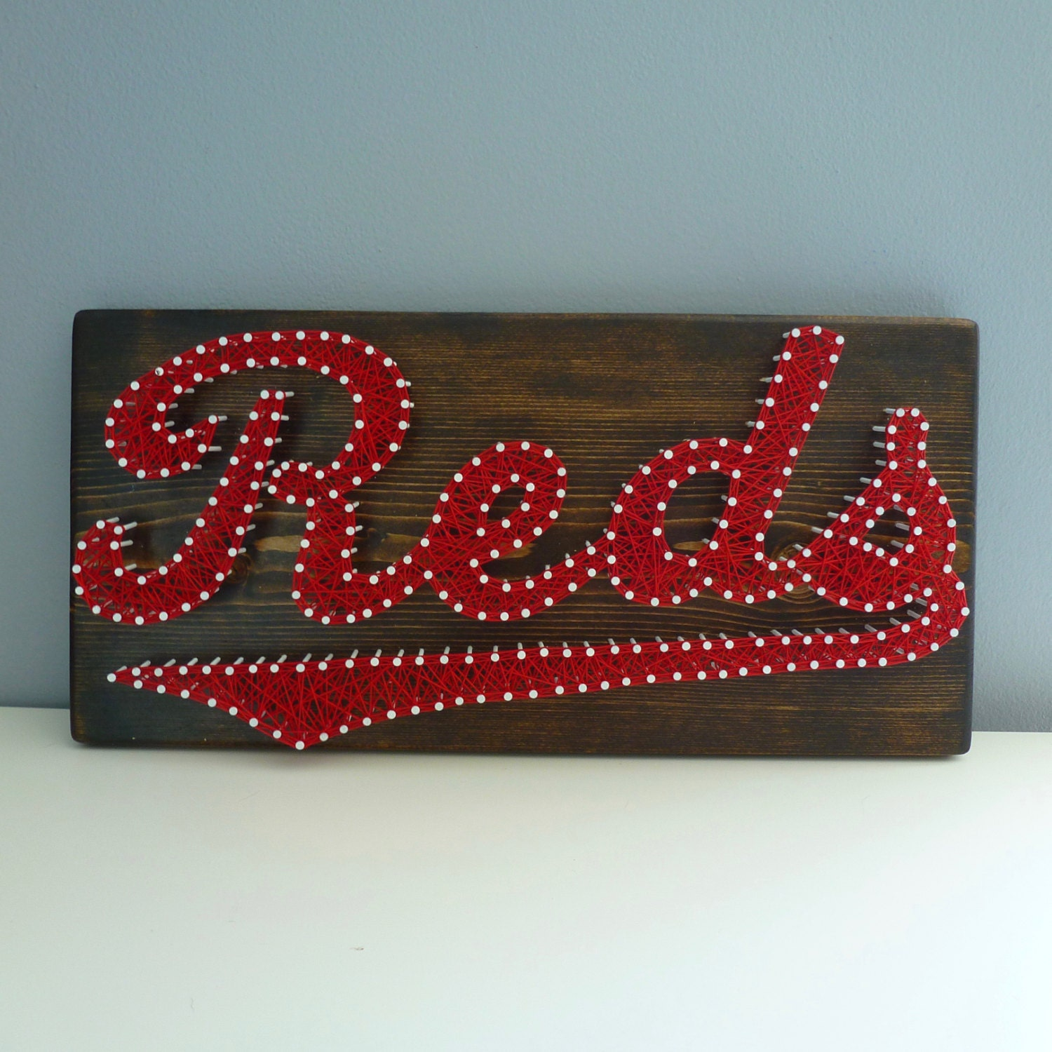 cincinnati reds string art cincinnati reds sign cincinnati decor reds string art reds decor ohio string art cincinnati reds logo
