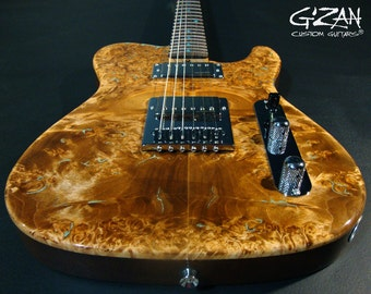 Brown Beauty Electric Guitar