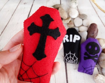 halloween decorations coffin tomb gothic home decor halloween party favors kids spooky decor trick or treat - Etsy Halloween Decorations