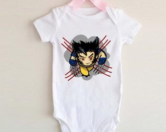 LoNyatanee Wolverine Xman Onesie Baby Onesie Bodysuit Kids Clothing