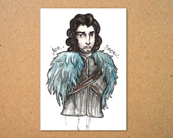 Original Jon Snow Illustration