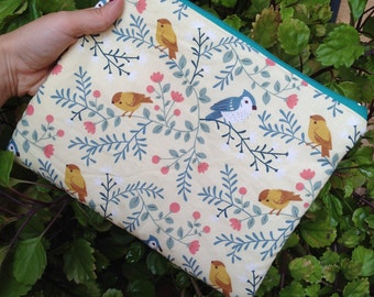 Toiletry bag birds