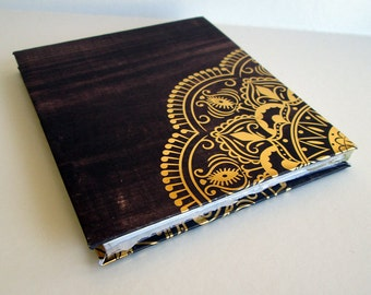 Brown and Gold Notebook