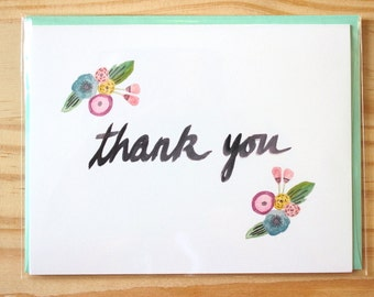 Thank You - set of 8 cards