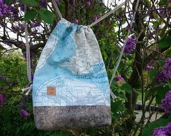 Globe-Trotter bag in vegan leather