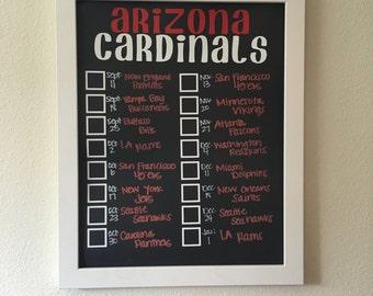 Arizona Cardinals Record Board