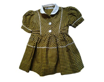 dress 6-9 months vintage 50s