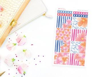 EC VERTICAL / Fleurs in Bloom Sticker Kit / Full Boxes
