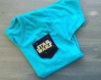 Star Wars Tshirt, Star Wars Pocket Tshirt
