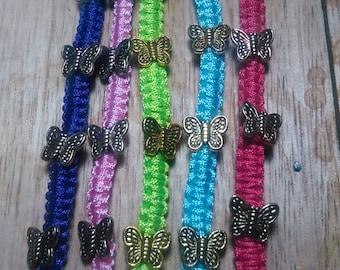adjustable butterfly bracelets