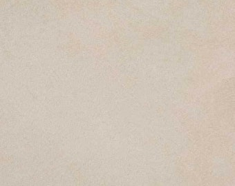 "Cream Luxor Soft suede 60"" Fabric by the yard Multipurpose"