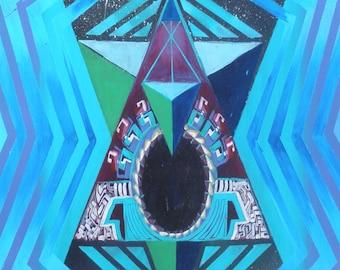Black Triangle (print)