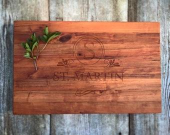 Personalized Cherry Cuttingboard