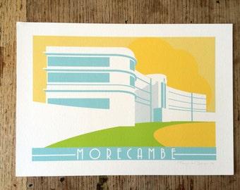 Lancashire, Morcambe, Midland Hotel, Art Deco,