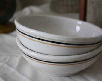 Syracuse China - two soup bowls