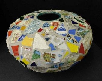 Large Mosaic Vase