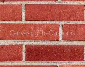 Brick Wall Texture Canvas Wall Art