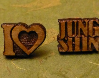 CNBlue I Love JungShin KPOP Earrings