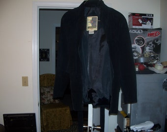 Middle Brook suede leater coat