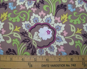 Art Gallery Paradise Taupe Double Bloom BTY