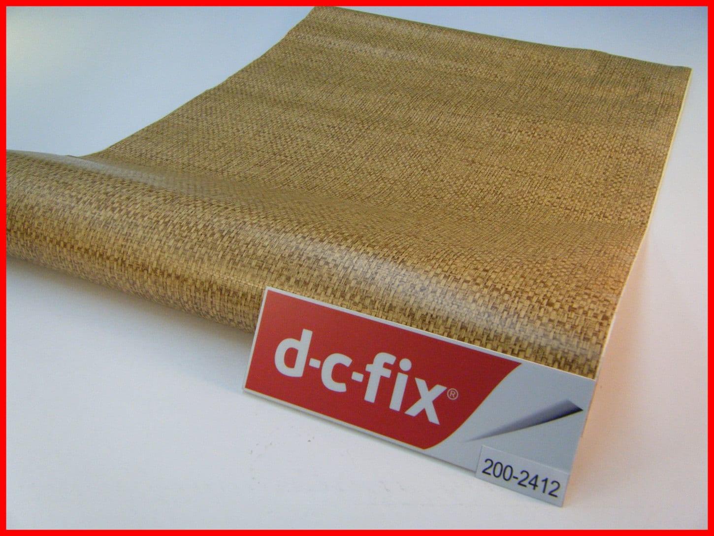 DC FIX Wicker Design Pattern 1m x 45cm Design Sticky Back